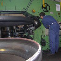 Bordatura fondo spessore 20 mm - div. ferro