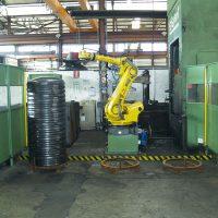 Pressa stampaggio con robot - div. ferro
